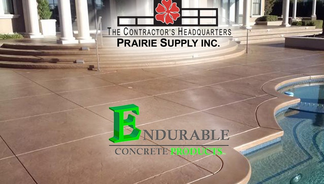 Free Decorative Concrete Training - Endurable Concrete Products