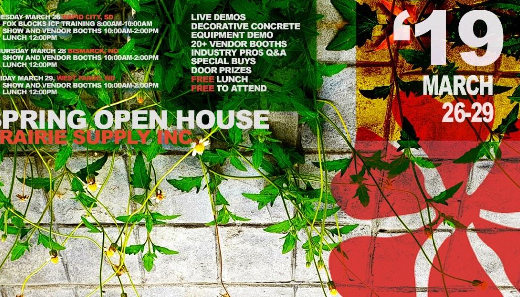 Spring Open House 2019