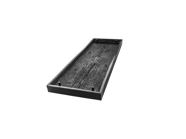 WOOD PLANK BENCH TOP MOLD