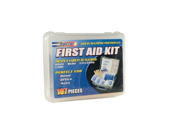 Economy 107pc First Aid Kit