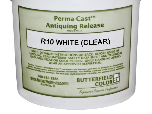 PERMA-CAST ANTIQUE RELEASE WHITE/CLEAR