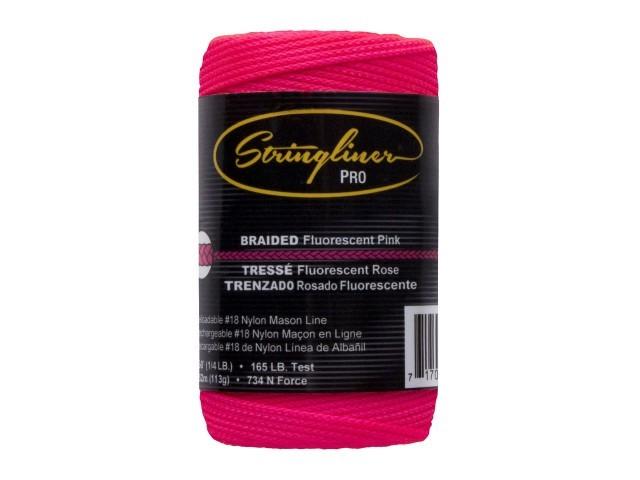 250' Braid Flo. Pink Mason Line