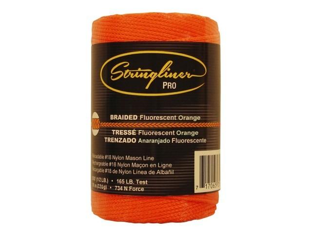 500' Braid Flo. Orange Mason Line