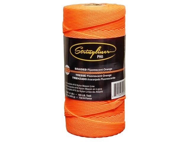 1000' Braid Flo. Orange Mason Line