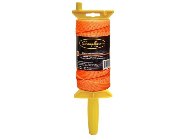 Pro Reel with 1000' Braided Flo. Orange