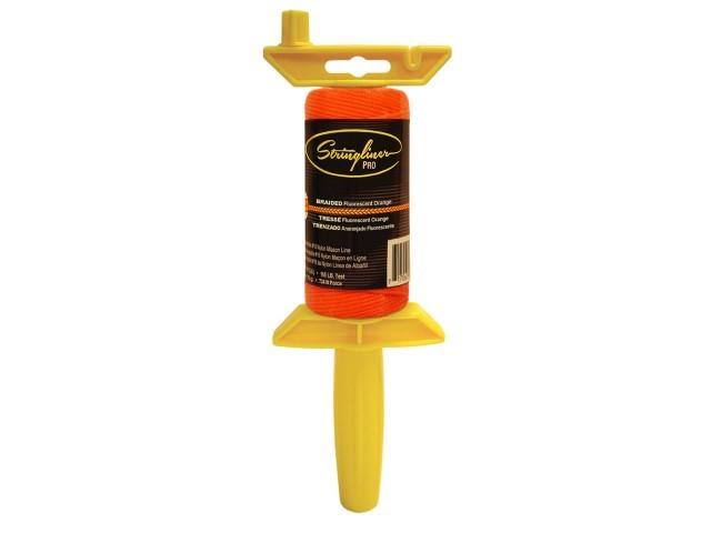 Pro Reel with 125' Braided Flo. Orange