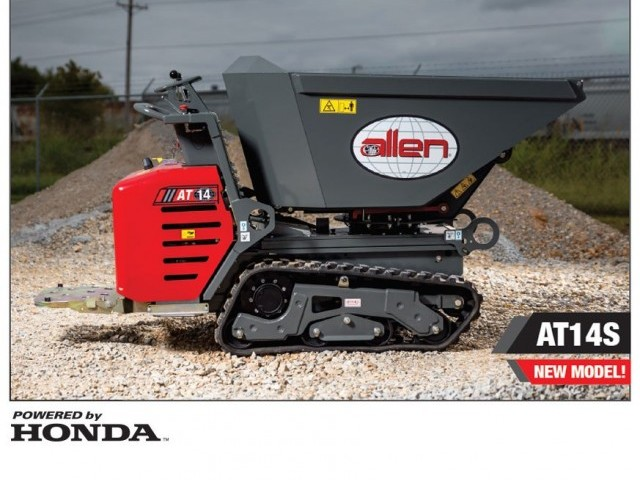 Allen AT14 Articulated Concrete Buggy - Products & Equipment