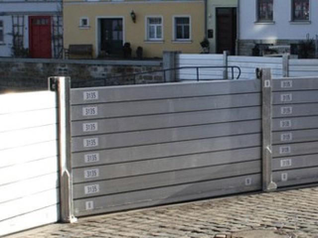 Aluminum Stop Log System