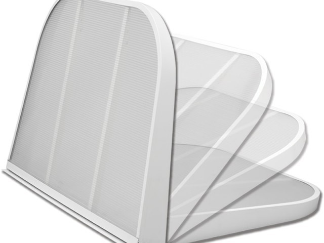 Window Well Cover - Thermal Hinge Cover™