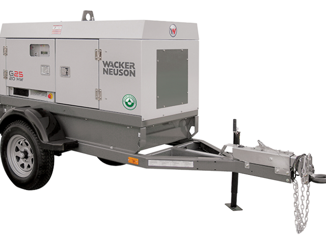Wacker Neuson G25 Portable Generator
