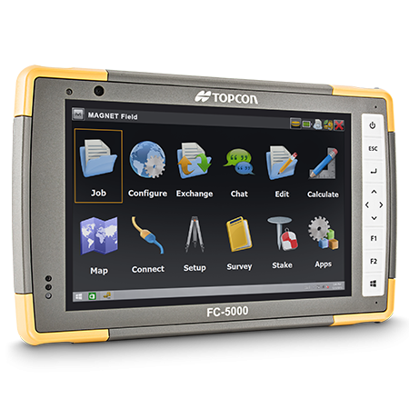 The FC5000 field controller is rugged and powerful, harnessing the power of the LN100 has never been more intuitive and packed with features.
