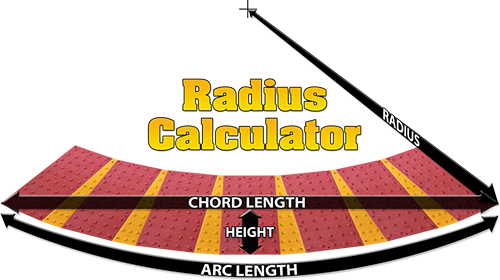 Need to create a radius on your project? Use this handy online tool.