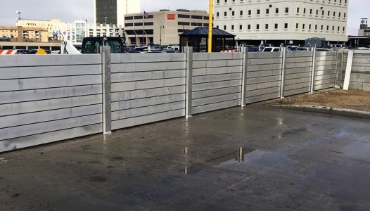 2nd St. Removable Floodwall, Protecting Downtown Fargo photo